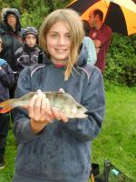 Stephanie West catches new junior club record perch of 0-14-0oz