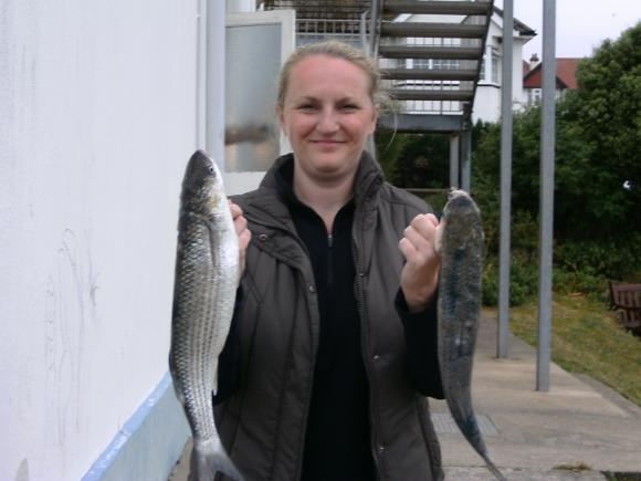Susi Poland - Golden Grey Mullet - Ladies Day boat section winner