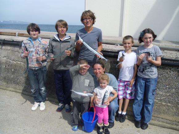 Junior open competition on brixham breakwater - saturday 11th august 2012